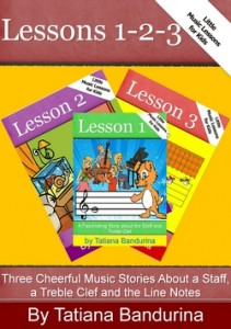 Music Lessons for Kids: Lessons 1-2-3