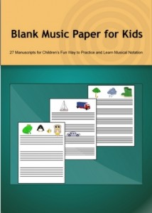 Blank Music Paper