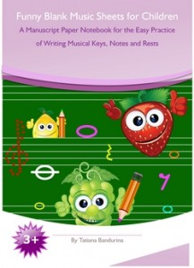 Blank Music Sheets for Children